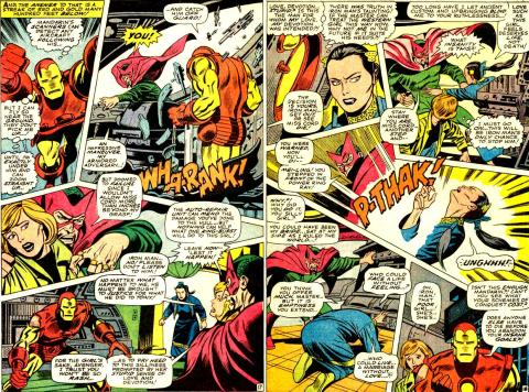 Iron Man #11, pg 17 & 18, Goodwin & Tuska