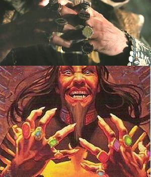 Os anéis do Mandarim