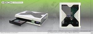 Xbox 720 conceitual por Scadbeezie