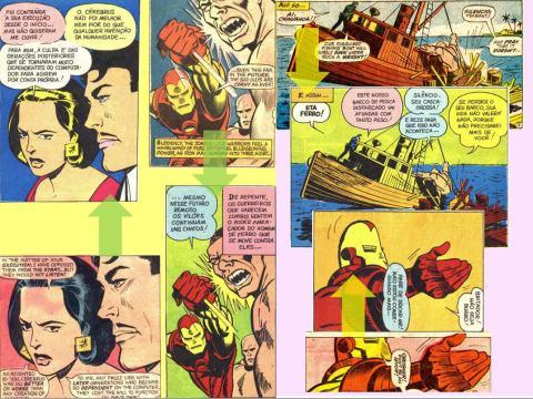 Homem de Ferro 03 vs Iron Man 05-06
