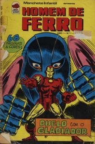 Homem de Ferro #04 - capa sem tratamento
