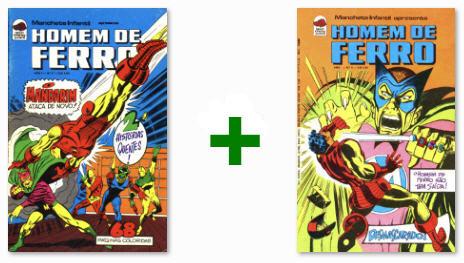 Homem de Ferro #05 & #06 - Editora Bloch - 1975