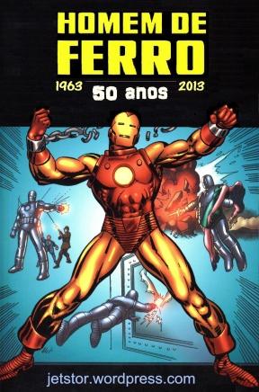 Homem de Ferro 50 anos logo w