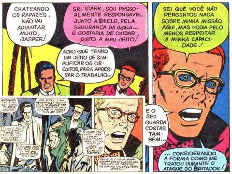 Iron Man #007 vs Homem de Ferro #04