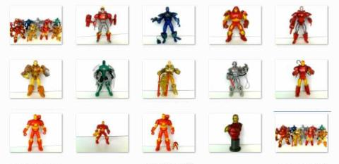 Iron Man Toy Collection thumbnails
