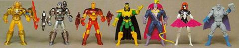 Marvel Action Hour Iron Man Series 01 - Toy Biz
