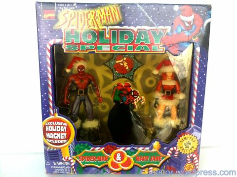 Spider-Man Holiday Special Set w