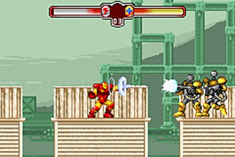The Invincible Iron Man - Gameboy Advance