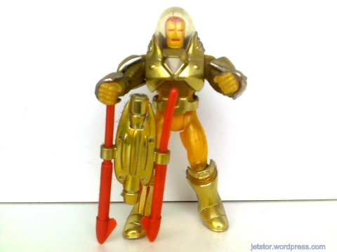 Toy Biz - Iron Man Series I - Hydro Armor