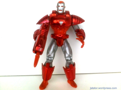 Toy Biz - Iron Man Series II - Hologram Armor