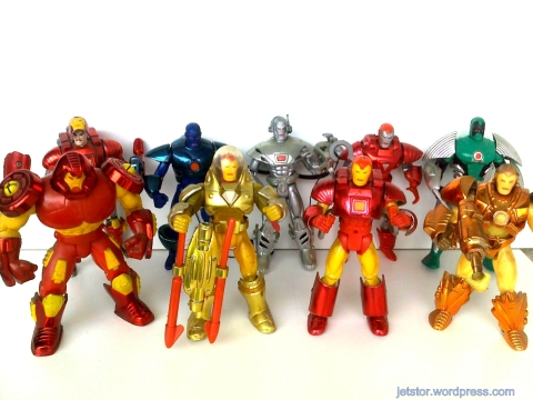 Toy Biz - Marvel Action Hour Iron Man Series Mix