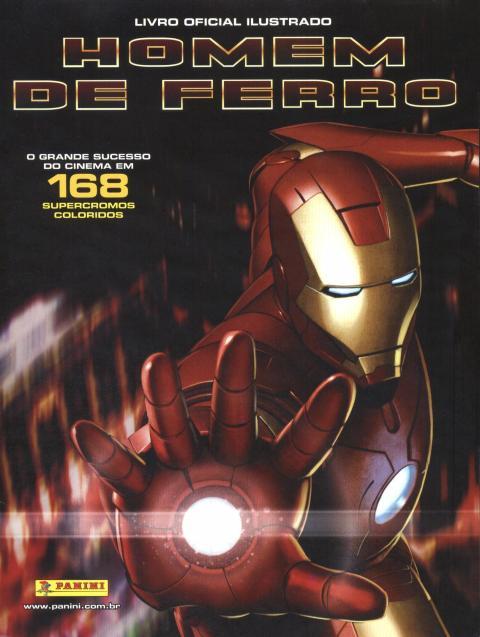 Homem de Ferro - Livro Oficial Ilustrado - Panini - 2008
