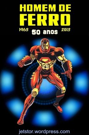 Homem de Ferro 50 anos logo 3 w