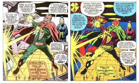 Iron Man #010 pg 01 vs Homem de Ferro #05 pg 37