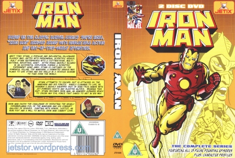 Iron Man 1966 Complete Series front w