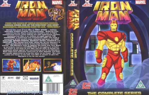 Iron Man 1994-1996 Complete Series front w