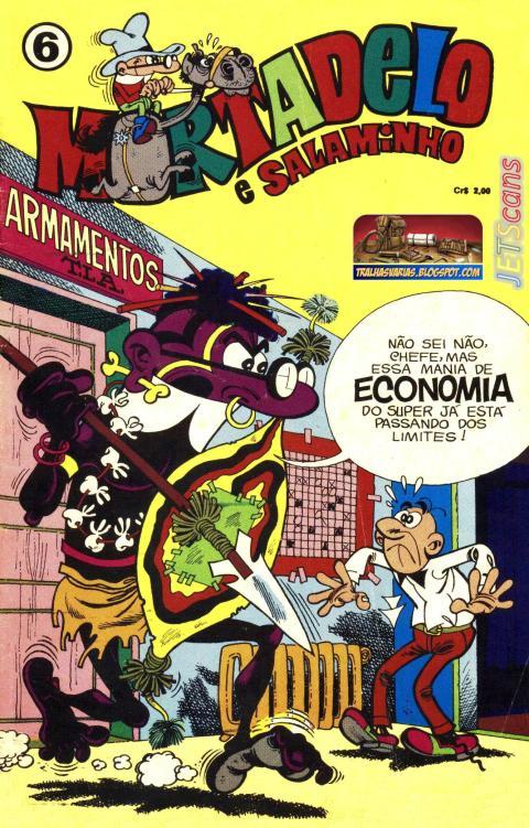 Mortadelo & Salaminho 06 RGE - janeiro de 1974