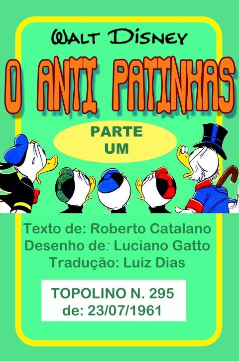 O Anti Tio Patinhas parte 01 - Lucian Gatto - 1961