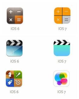 Ícones iOS 6 & iOS 7