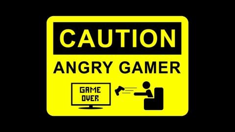 Cuidado: Jogador Raivoso - favor colar no Xbox One