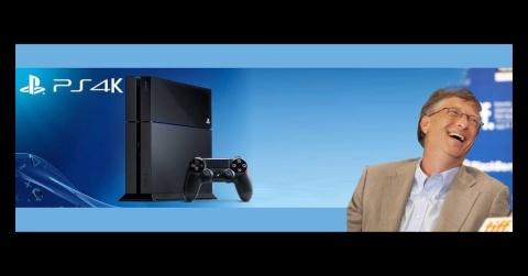 PS4K e a reação de Bill Gates