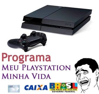PS4K financiado pela Caixa