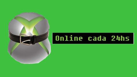 Xbox One online cada 24hs noticiado no Appygamer (clique para ler, em inglês)