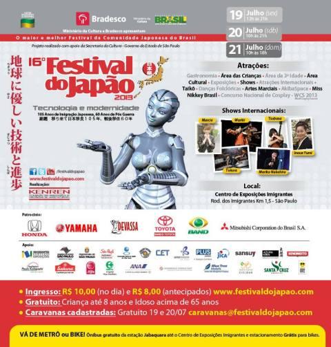 16º Festival do Japão 2013