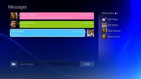 PS4 Social Net