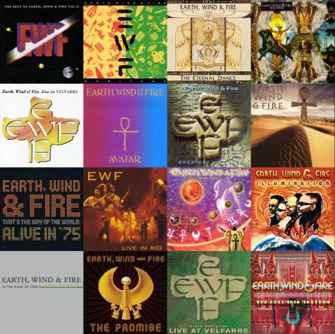 Earth, Wind & Fire - Discography 02