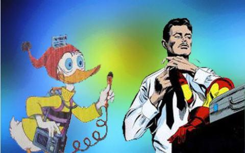 Peninha & Tony Stark