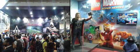 BGS 2013 - Assassin's Creed e Lego Marvel Super Heroes