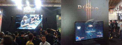 BGS 2013 - Estande da Blizzard