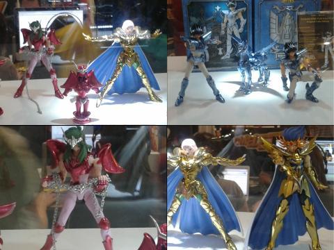 BGS 2013 - Display de Toys - Cavaleiros do Zodíaco