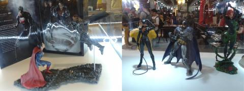 BGS 2013 - Display de Toys - DC Heroes