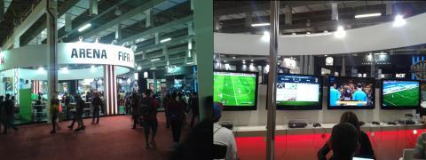 BGS 2013 - Estande da Electronic Arts