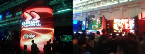 BGS 2013 - Estande de League of Legends