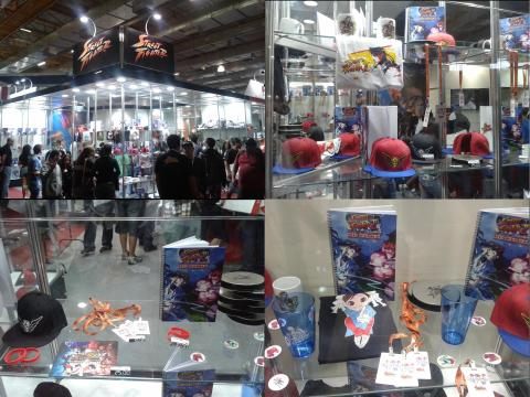 BGS 2013 - Estande de Street Fighter