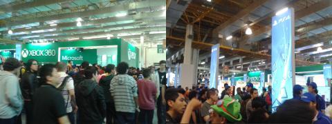 BGS 2013 - Xbox One vs PS4
