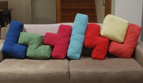 Tetris no sofá