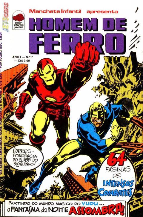 Homem de Ferro #07 - Bloch - outubro de 1975