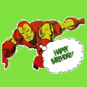Iron Man Happy Birthday!