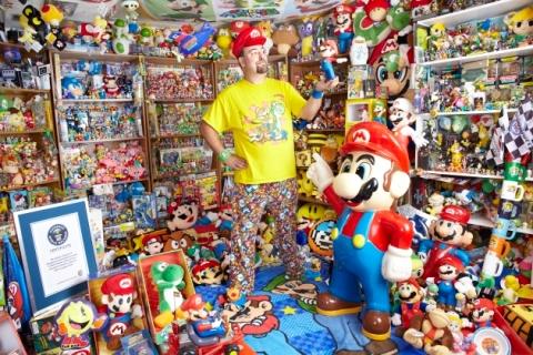 A maior coleção de memorabilia gamer pertence a Brett Martin, segundo o Guiness 2014