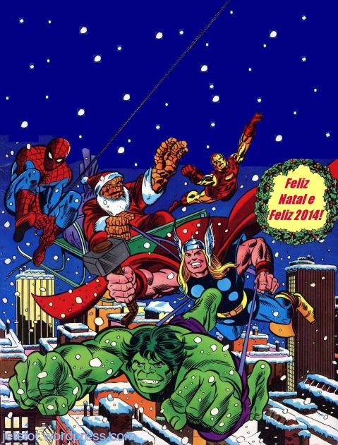 Arte de John Romita & Gil Kane para capa (modificada) de Giant Superhero Holiday Grab-Bag, 1976