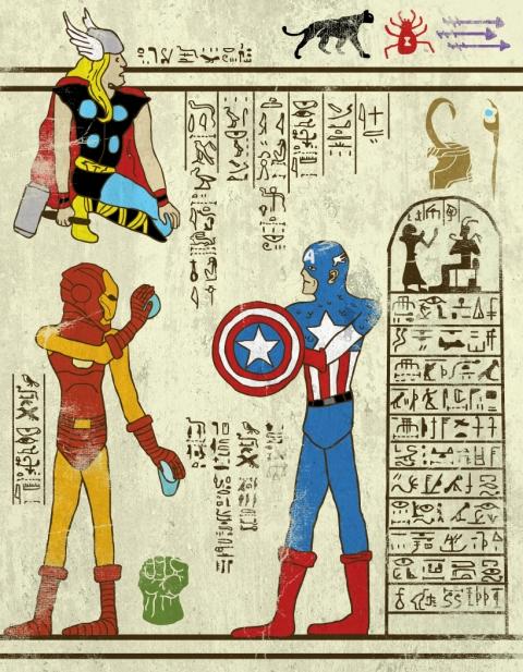 Heroglyphics - Avengers