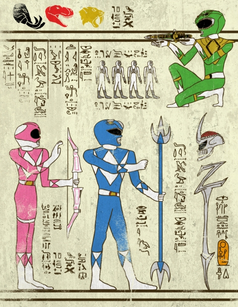 Heroglyphics - Power Rangers