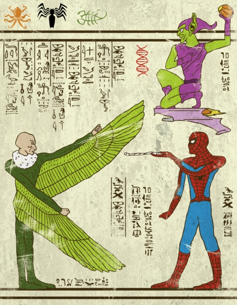Heroglyphics - Spider-Man