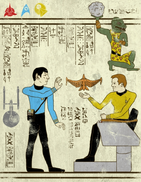Heroglyphics - Star Trek