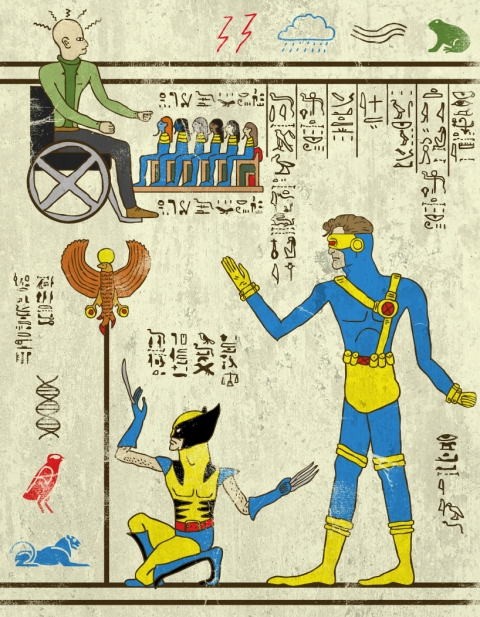 Heroglyphics - X-Men