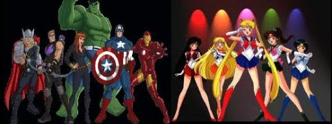 Avengers & Sailor Moon